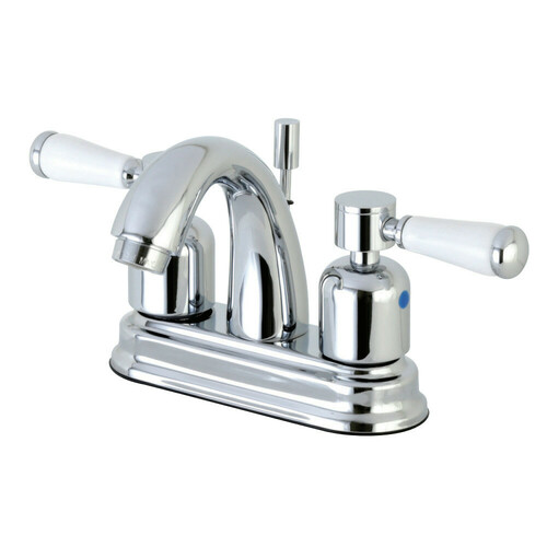 Kingston Brass FB5611DPL 4 in. Centerset Bathroom Faucet, Polished Chrome