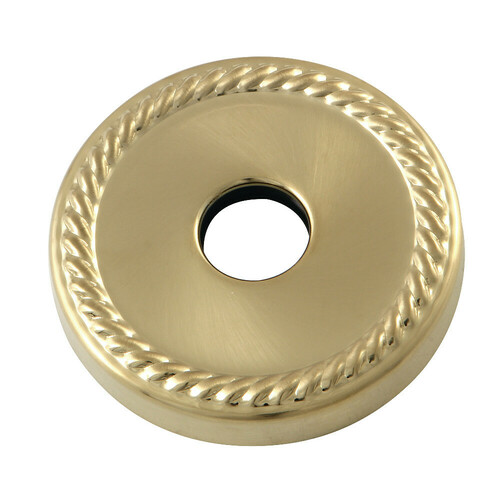 Kingston Brass FLROPE7 3/4-Inch Decor Escutcheon, Brushed Brass