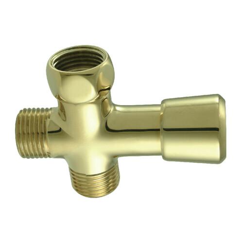 Kingston Brass K161A2 Trimscape Shower Diverter, Polished Brass