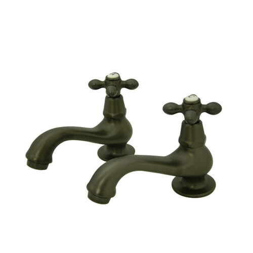 Kingston Brass KS1105AX Heritage Basin Tap Faucet, Oil Rubbed Bronze