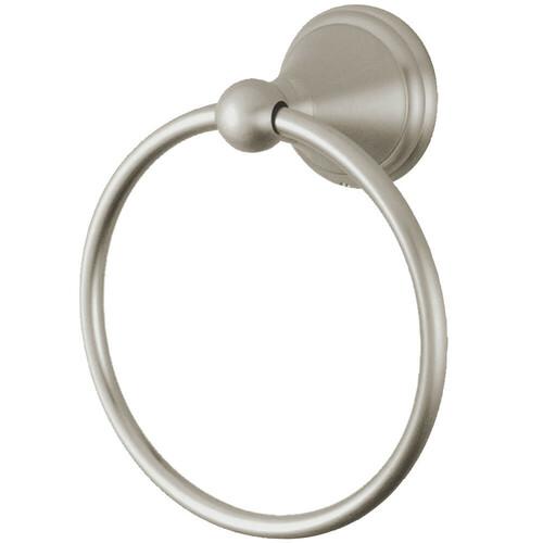Kingston Brass BA2974SN Governor Towel Ring, Brushed Nickel