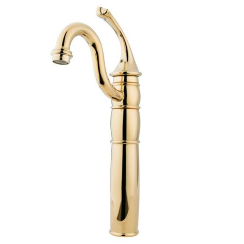 Kingston Brass KB1422GL Vessel Sink Faucet, Polished Brass