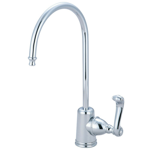 Kingston Brass KS7191FL Royale Single Handle Water Filtration Faucet, Polished Chrome
