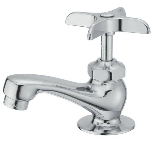 Kingston Brass KF301 Compression Basin Faucet, Polished Chrome