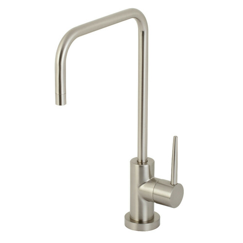 Kingston Brass KS6198NYL New York Single-Handle Cold Water Filtration Faucet, Brushed Nickel