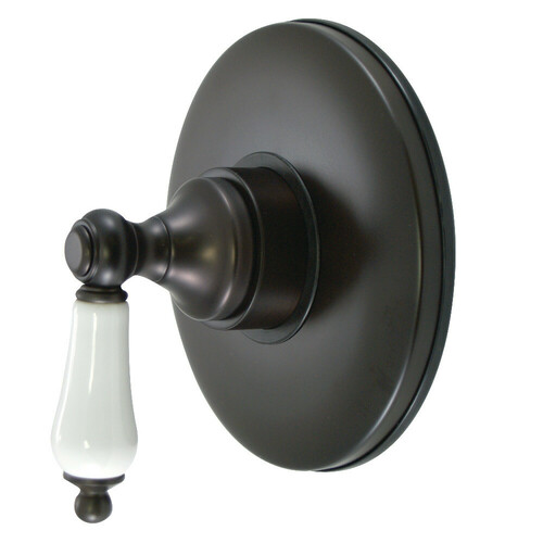 Kingston Brass KB3005PL Volume Control with Lever Handle, Oil Rubbed Bronze