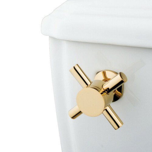 Kingston Brass KTDX2 Concord Toilet Tank Lever, Polished Brass