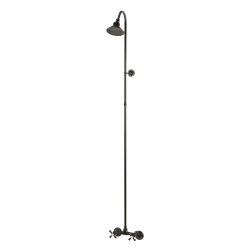 Kingston Brass CCK2135 Vintage Shower Combination, Oil Rubbed Bronze