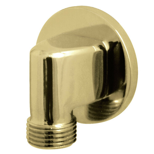 Kingston Brass K173M2 Showerscape Wall Mount Supply Elbow, Polished Brass
