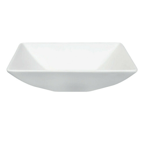Kingston Brass EVA16165 Solid Surface Matte Stone Single-Bowl Vessel Bathroom Sink, Matte White