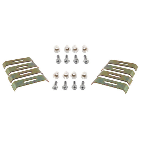 Kingston Brass KUHDWR8 8 Pieces Undermount Clip for Stainless Steel Sink