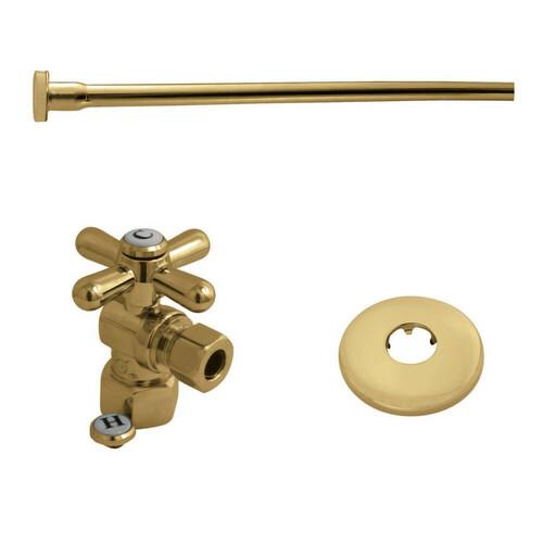 Kingston Brass KTK102P Toilet Supply Kit, 1/2