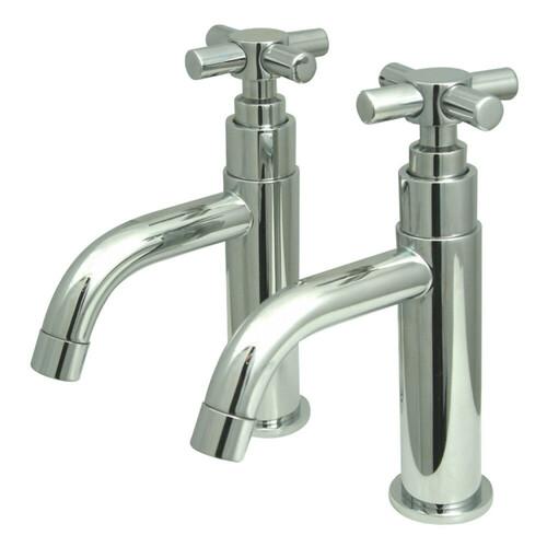 Kingston Brass KS8221EX Elinvar Basin Faucet, Polished Chrome