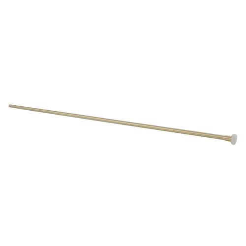 Kingston Brass CF38307 Complement 30-Inch X 3/8-Inch Diameter Flat Closet Supply, Brushed Brass