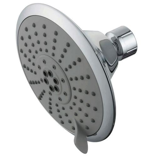 Kingston Brass KX251 Showerscape 5-Inch 5-Function Shower Head, Polished Chrome