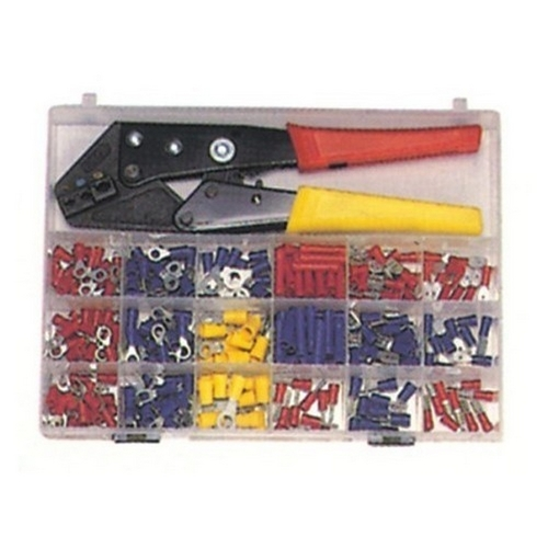 Morris 10817 200 Piece Terminal Kit with Controlled Cycle Crimp Tool