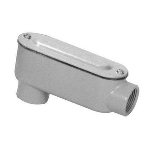 Morris 14054 Aluminum Rigid Conduit Bodies LB Type - Threaded with Cover & Gasket 1-1/2