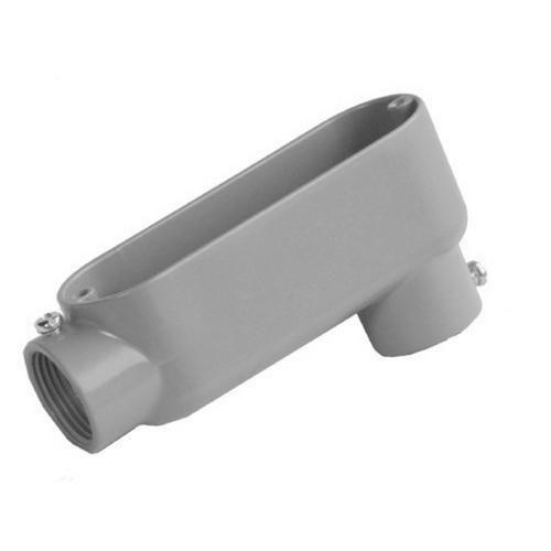 Morris 14240 Aluminum Combination Conduit Bodies LB Type - Threaded & Set Screw 1/2