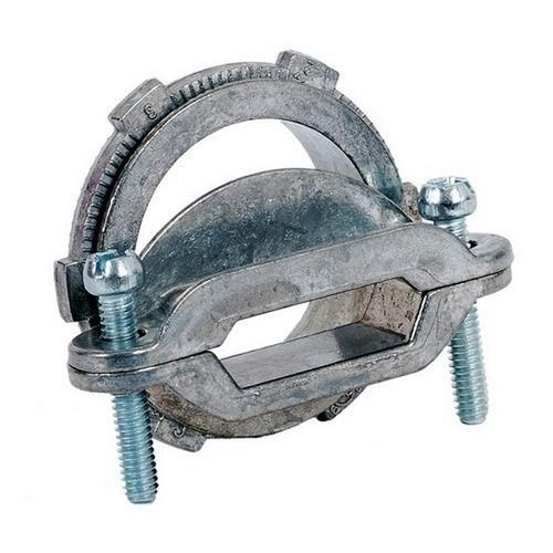 Morris 15337 Non-Watertight NM Oval Connectors - Zinc Die Cast - 1-1/4