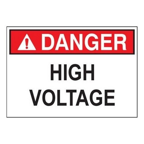 """Morris 21422 Safety Signs 'Caution Area In front of Electrical Panel Must Be Kept Clear for 36"""" OSHA-NEC Regulations' (7"""