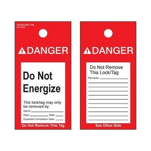 Morris 21512 Lockout Tags 'Do Not Operate' (5 Pack)