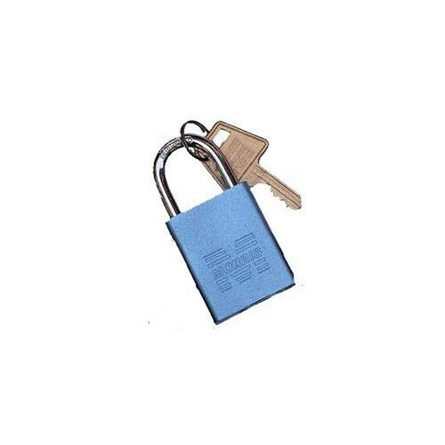 Morris 21632 Padlocks Blue Keyed Different