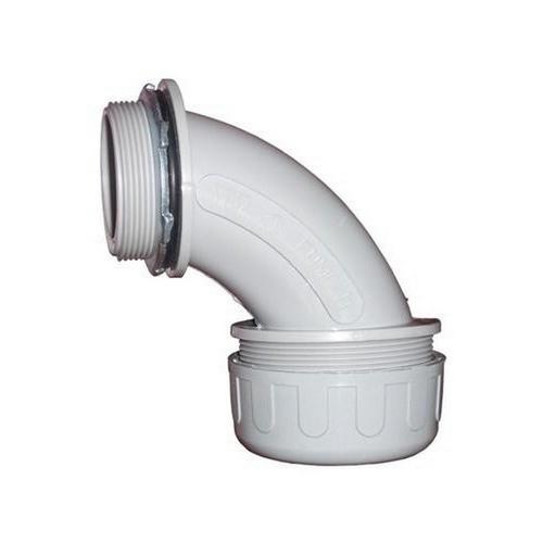 """Morris 21823 Non-Metallic Liquid Tight Connectors - 90° 1/2"""""""