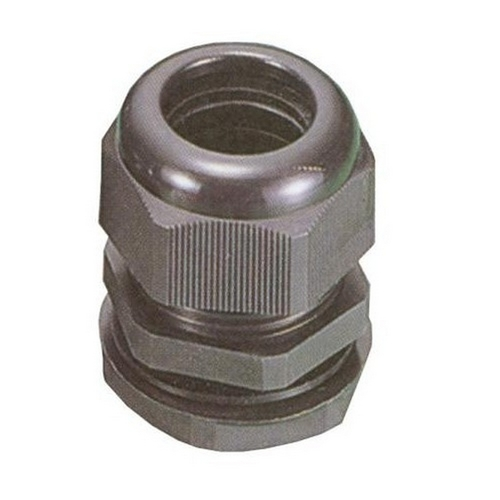 Nylon Morris 22248 Multi Conductor Cable Gland 1//4 Thread Size 0.063-0.102 Cable Size NPT Thread 3 Holes