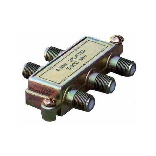 Morris 45052 4 Way Splitters with Ground Block Digital 5-1000 Mhz