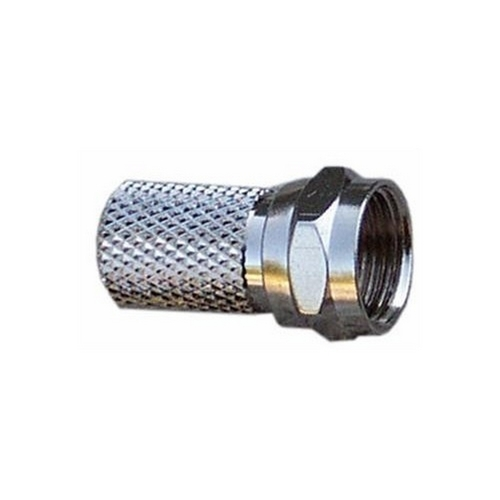 Morris 45080 Type 'F' Coaxial Connector - Twist On RG6