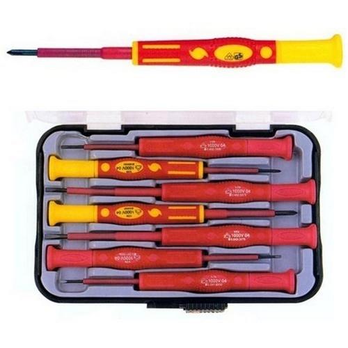Morris 54232 1000 Volt Precision Insulated Screwdriver Set - 7 Piece Set