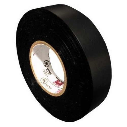 Morris 60110 7 Mil Professional Grade Vinyl Electrical Tape Black 3/4