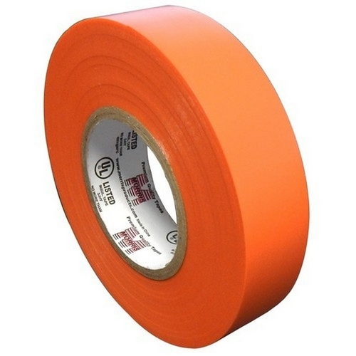 Morris 60117 7 Mil Professional Grade Vinyl Electrical Tape Orange 3/4