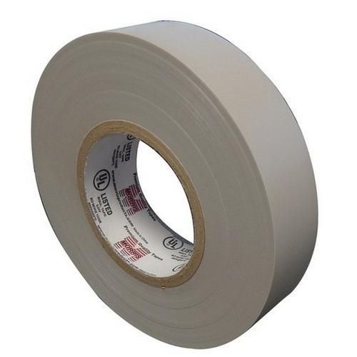 Morris 60118 7 Mil Professional Grade Vinyl Electrical Tape Gray 3/4