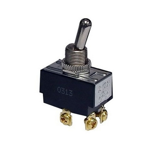 Morris 70100 Heavy Duty 2 Pole Toggle Switches DPST On-Off Screw Terminals
