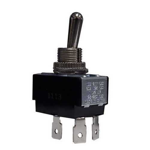 Morris 70101 Heavy Duty 2 Pole Toggle Switches DPST On-Off Quick Connect Terminals