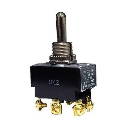 Morris 70110 Heavy Duty 2 Pole Toggle Switch DPDT On-Off-On Screw Terminals