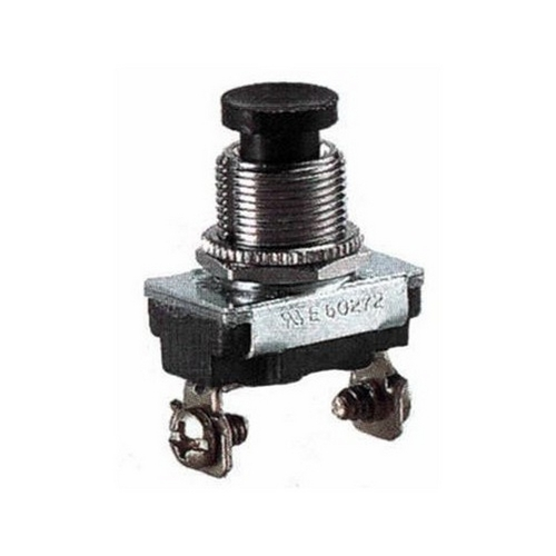 Morris 70140 Push Button SPST Momentary Contact (On)-Off Screw Terminals