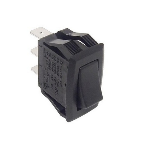 Morris 70182 Appliance Rocker Switch SPDT On-On Quick Connect Spade Terminal