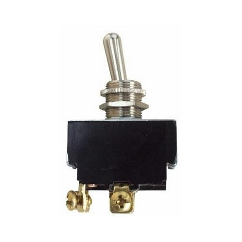 Morris 70262 Heavy Duty Momentary Contact Toggle Switch DPST (On)-Off Screw Terminals