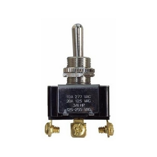 Morris 70270 Heavy Duty Momentary Contact Toggle Switch SPDT On-Off-(On) Screw Terminals