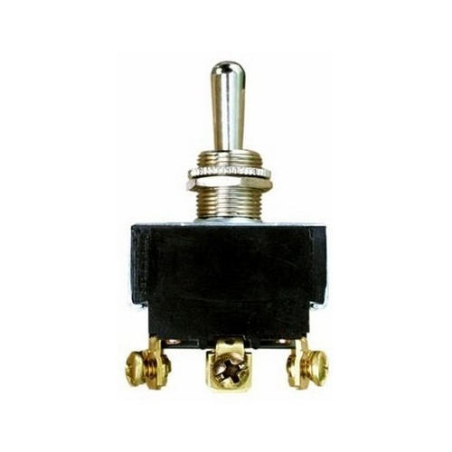 Morris 70300 Heavy Duty Momentary Contact Toggle Switch DPDT (On)-Off-(On) Screw Terminals