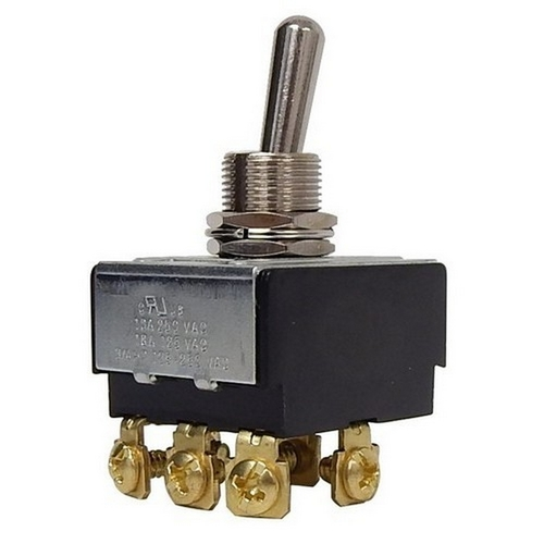 Morris 70301 Heavy Duty 3 Pole Toggle Switch 3PST On-Off Screw Terminals