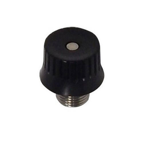 Morris 70422 Rotary Switch SPST Black Large Button with 6