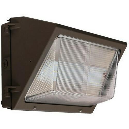 Morris 71425B LED Medium Classic Wallpacks 60W 7,133 Lumens 120-277V Bronze
