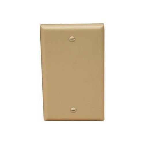 Morris 81740 Lexan Wall Plates 1 Gang Midsize Blank Ivory