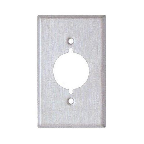 Morris 83480 430 Stainless Steel Wall Plates 1 Gang Range/Dryer