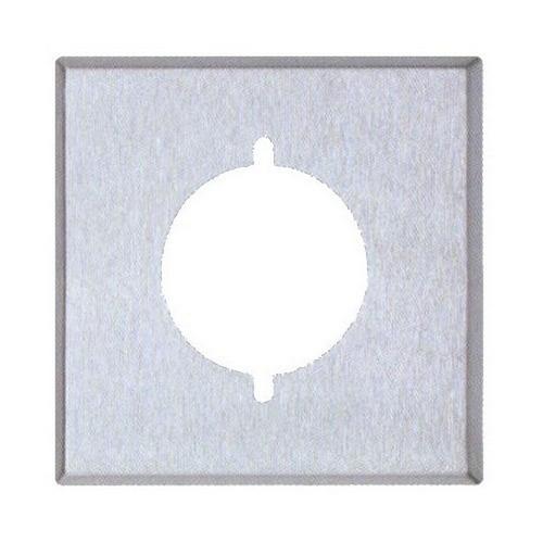 Morris 83485 430 Stainless Steel Wall Plates 2 Gang Metal Range/Dryer