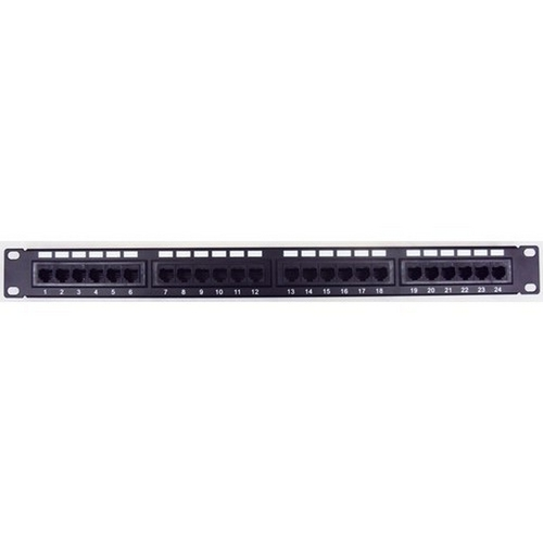 Morris 88044 Cat5E High Density Patch Panels 24 Port
