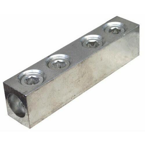 Morris 90620 Aluminum Splices/Reducers 4 Screw 500MCM-3/0